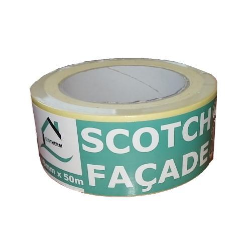 scotch_facade_gds_izotherm_48mmx50m Scotch papier autocollant pour votre façade et vos peintures Dimensions : 48mm X 50m Ruban adhésif permettant de délimiter les zones de peinture Faites de magnifiques décoration avec ce scotch pour façade ! EXPEDITION RAPIDE - PRODUITS EN STOCK