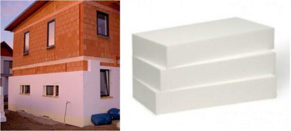 Polystyrène expansé blanc - façade ITE - TH38