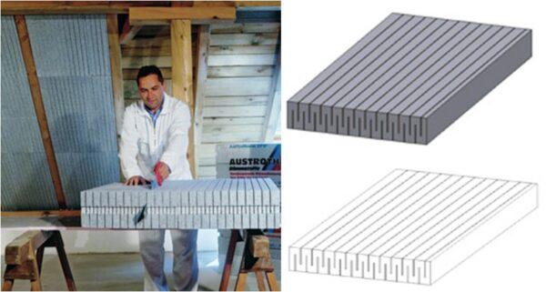 Isolant polystyrène - charpente - toitures