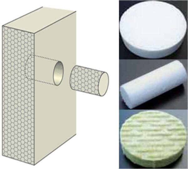 Système de fixation - polystyrène et chevilles
