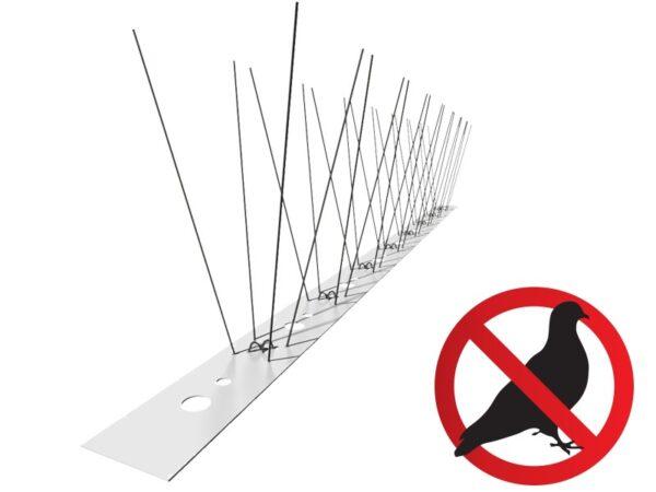 Pics anti pigeon - Pièges anti pigeon - 100 cm